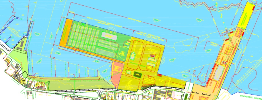 Design Of Souda Port Cruise Facilities Crete Island - Port design